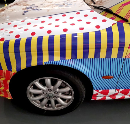 Jaguar Art Car – Fruit of the Loom